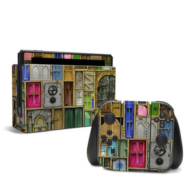 Nintendo Switch Skin - Doors Closed