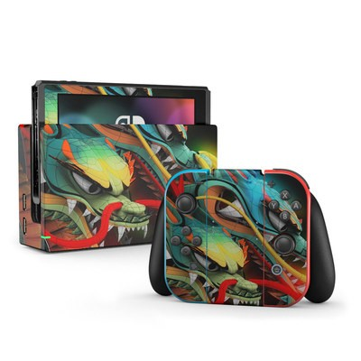 Nintendo Switch Skin - Dragons