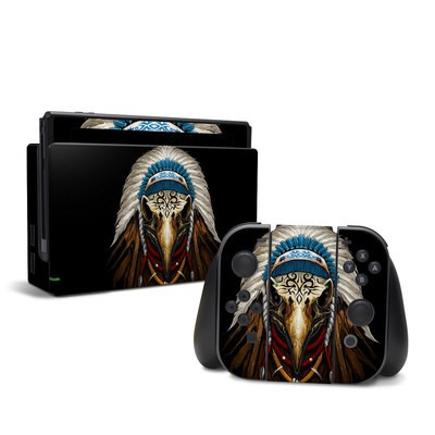Nintendo Switch Skin - Eagle Skull