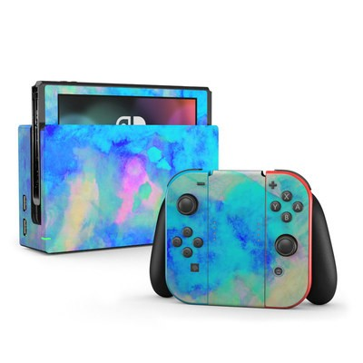 Nintendo Switch Skin - Electrify Ice Blue
