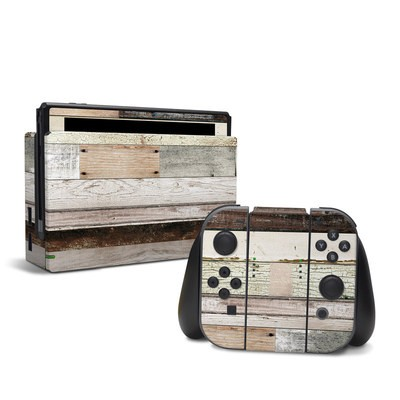 Nintendo Switch Skin - Eclectic Wood