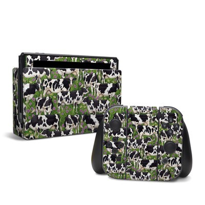 Nintendo Switch Skin - Farm Cows