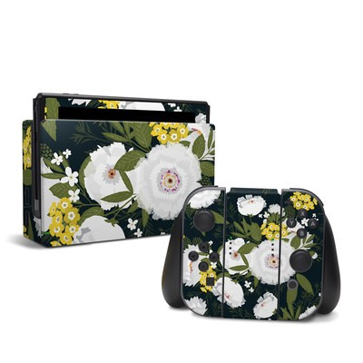 Nintendo Switch Skin - Fleurette Night
