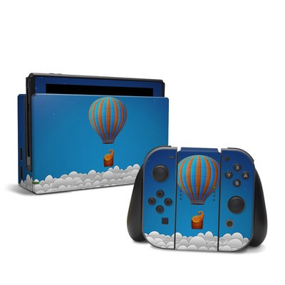 Nintendo Switch Skin - Flying Elephant