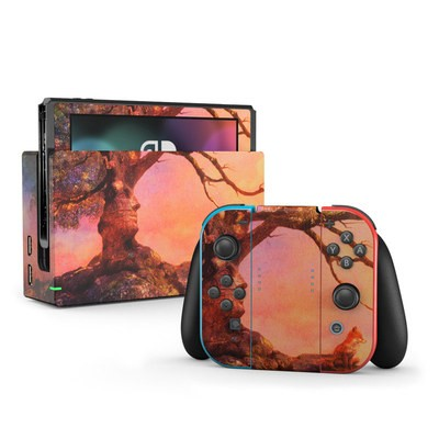 Nintendo Switch Skin - Fox Sunset