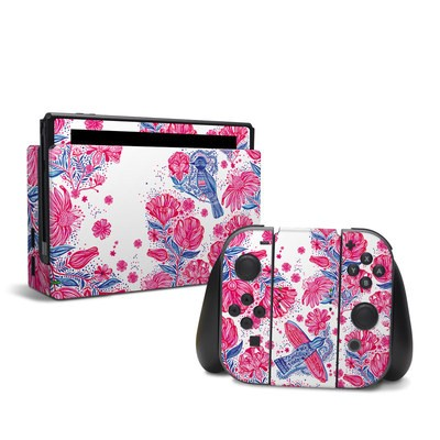 Nintendo Switch Skin - Freedom Flowers