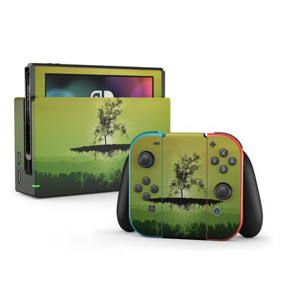 Nintendo Switch Skin - Flying Tree Amber