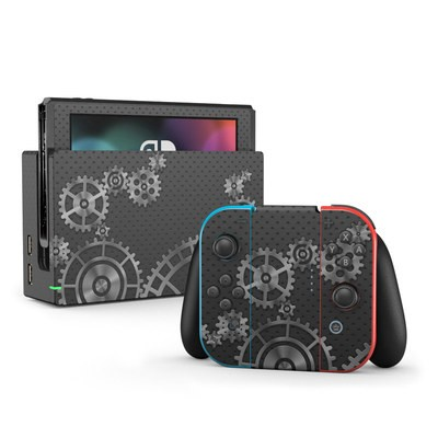 Nintendo Switch Skin - Gear Wheel