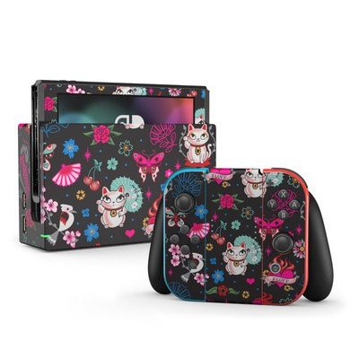 Nintendo Switch Skin - Geisha Kitty