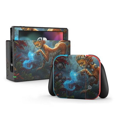 Nintendo Switch Skin - Ghost Centipede