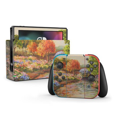 Nintendo Switch Skin - Giverny Forever