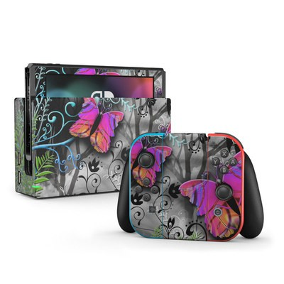 Nintendo Switch Skin - Goth Forest