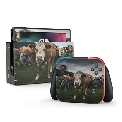 Nintendo Switch Skin - Herding