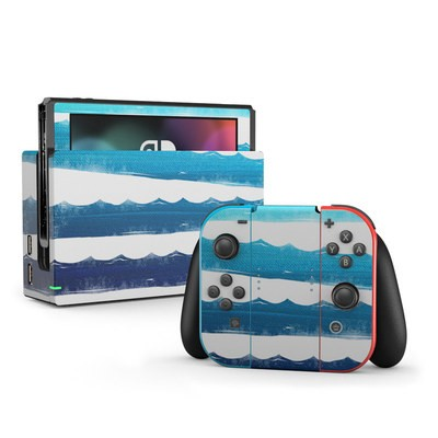 Nintendo Switch Skin - Horizon Lines