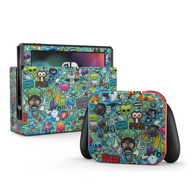 Nintendo Switch Skin - Jewel Thief