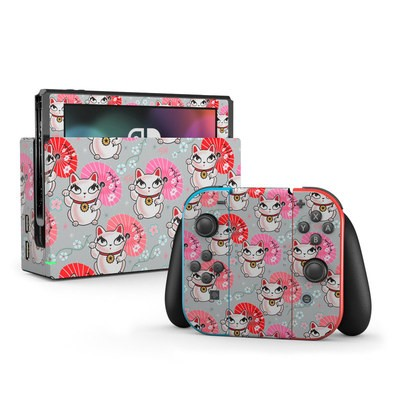 Nintendo Switch Skin - Kyoto Kitty