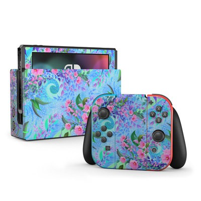 Nintendo Switch Skin - Lavender Flowers