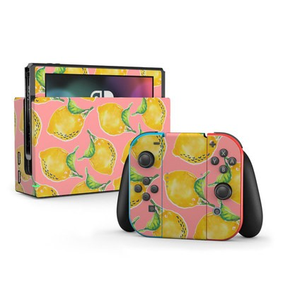 Nintendo Switch Skin - Lemon