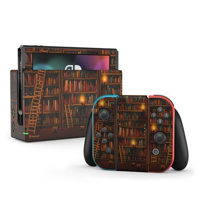Nintendo Switch Skin - Library