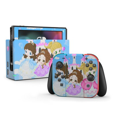 Nintendo Switch Skin - Little Princesses