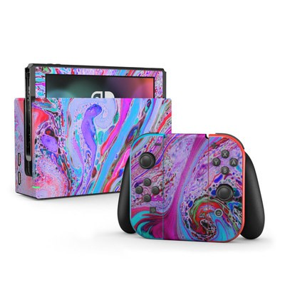 Nintendo Switch Skin - Marbled Lustre