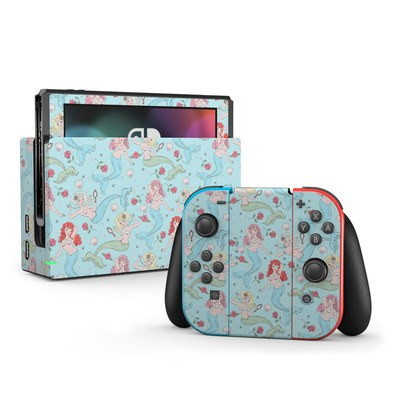 Nintendo Switch Skin - Mermaids and Roses