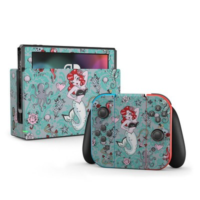 Nintendo Switch Skin - Molly Mermaid