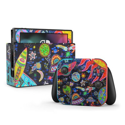 Nintendo Switch Skin - Out to Space