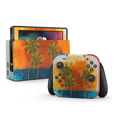 Nintendo Switch Skin - Palm Trio
