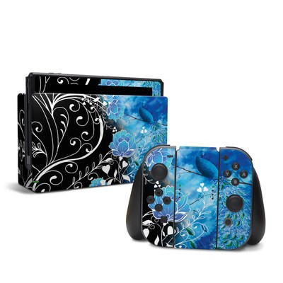 Nintendo Switch Skin - Peacock Sky