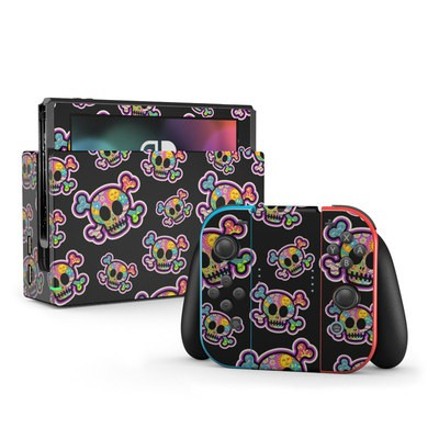 Nintendo Switch Skin - Peace Skulls