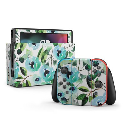 Nintendo Switch Skin - Peonies