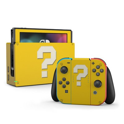 Nintendo Switch Skin - Prize Block