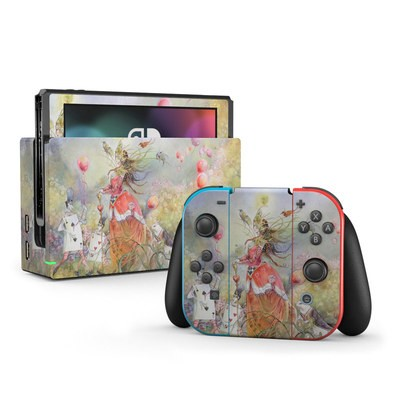Nintendo Switch Skin - Queen of Hearts