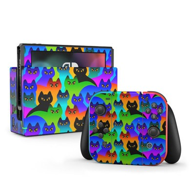 Nintendo Switch Skin - Rainbow Cats