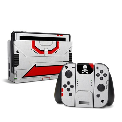 Nintendo Switch Skin - Red Valkyrie