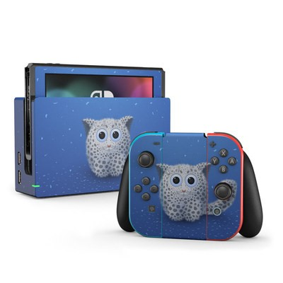 Nintendo Switch Skin - Snow Leopard