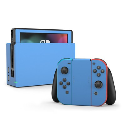 Nintendo Switch Skin - Solid State Blue