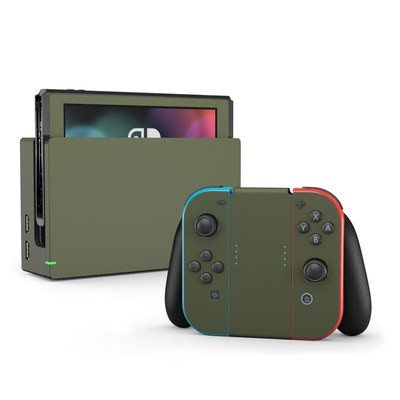 Nintendo Switch Skin - Solid State Olive Drab