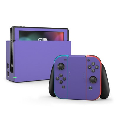 Nintendo Switch Skin - Solid State Purple