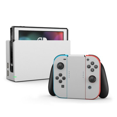Nintendo Switch Skin - Solid State White