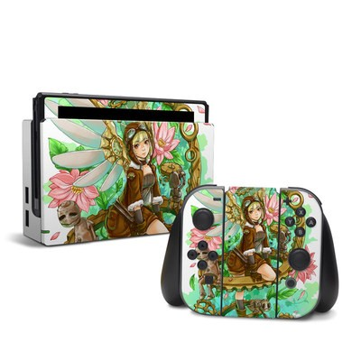 Nintendo Switch Skin - Steampunk Angel