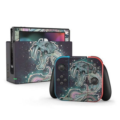 Nintendo Switch Skin - Saber-Toothed Serpent