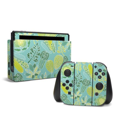 Nintendo Switch Skin - Succulents