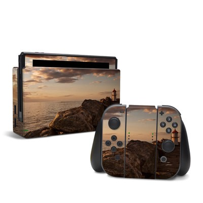 Nintendo Switch Skin - Sunset Beacon
