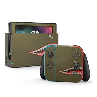 Nintendo Switch Skin - USAF Shark