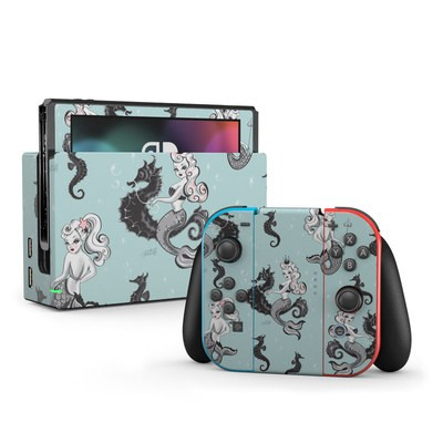 Nintendo Switch Skin - Vintage Mermaid