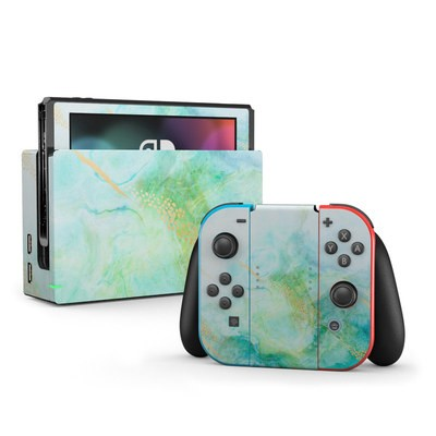 Nintendo Switch Skin - Winter Marble