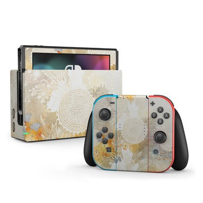 Nintendo Switch Skin - White Velvet