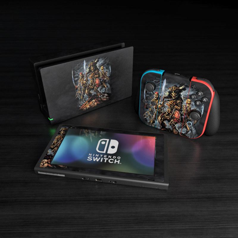 Nintendo Switch Skin - Pirates Curse